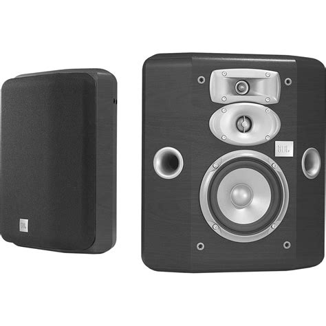 jbl l810 3 way bookshelf speakers black pair l810 h b h