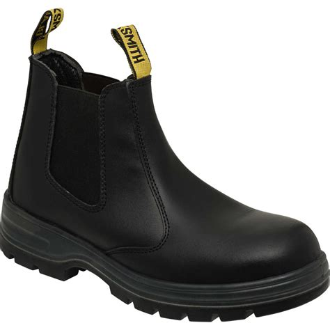 stalen boot blacksmith chippie b steel cap work boots black big w