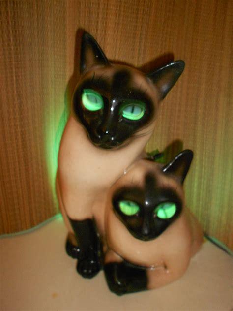 Siamese Cat Lamp by Reserved For Nadine Delgado Retro Cat Tv Lamp Claes Syamese