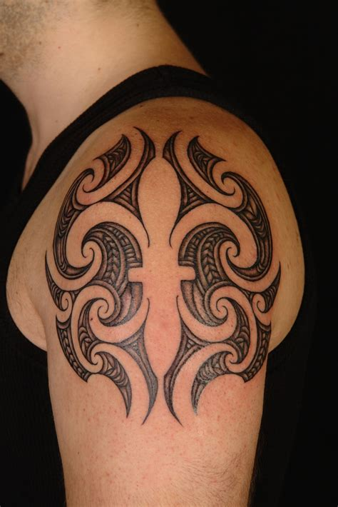 australian tribal tattoos interesting maori style fleur de lys by shane