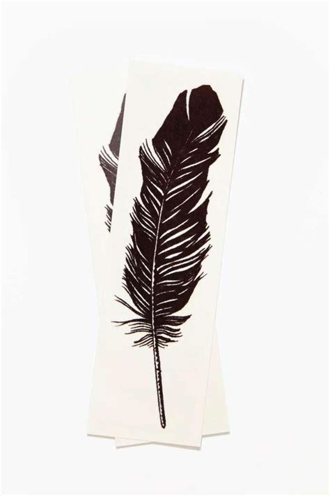 feather tattoo temporary tattly feather temporary tattoo pack to you from you