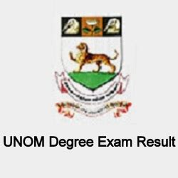 Madras Distance Education Mba Results April 2017 by Madras Unom April Degree Result 2018 Ba B Sc B
