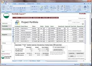 Microsoft Project Templates by Microsoft Access Projects Template Opengate Software Inc
