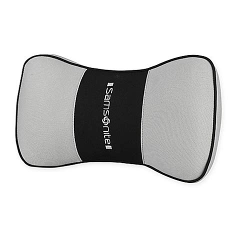 I Cushion Premium buy samsonite 174 premium neck support cushion in grey from