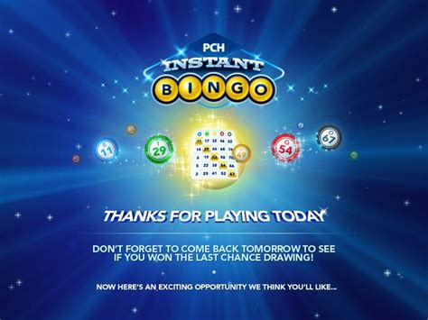 Pch Instant Bingo - game play pch instant bingolove it my pch favorite s pinterest best instant