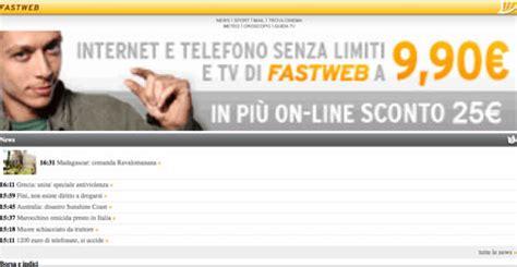operatore fastweb mobile fastweb ecco il nuovo portale mobile io chiamo