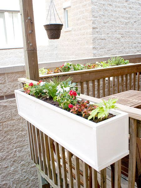 best 25 railing planters ideas on balcony