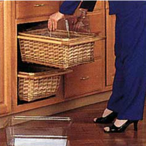 kitchen cabinet baskets kitchen cabinet storage baskets bhg centsational style