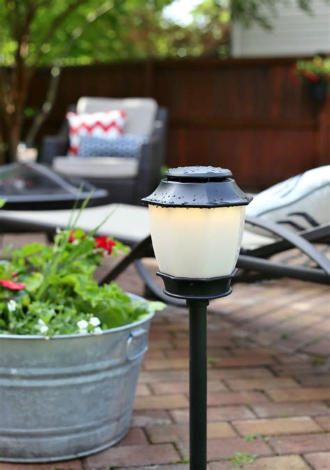 patio makeover mosquito repellent outdoor lighting system