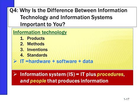 Difference Between Mba In Information Technology And Information Systems chapter 1 the importance of mis ppt