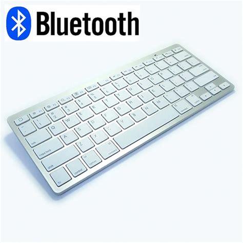 Keyboard Mini Bluetooth White Berkualitas mini bluetooth wireless white keyboard mouse gaimg
