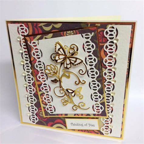 Dies Butterfly B 17 best images about tonic dies cards on