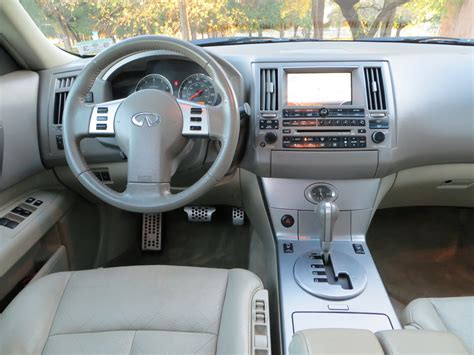 2005 Infiniti Fx35 Interior 2005 infiniti fx35 interior pictures cargurus