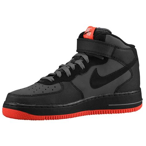 Nike 1 For best nike air 1 mid mens shoes grey black