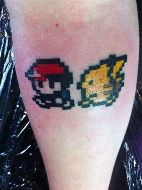 geek tattoos tattoos ash pikachu