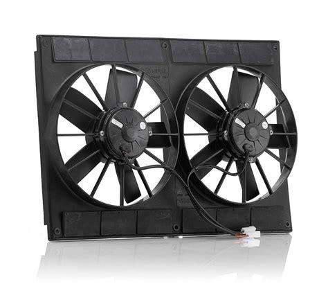 taurus electric fan cfm be cool electric fan dual 11 in puller 2720 cfm p