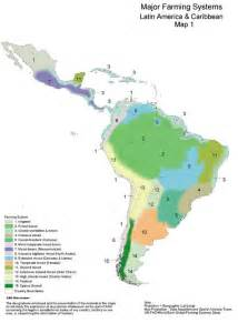 south america agriculture map farming systems and poverty
