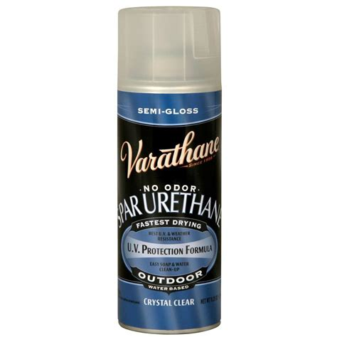 spray paint polyurethane varathane 11 25 oz clear semi gloss spar urethane spray