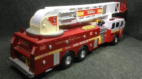 Big Tonka Fire Rescue Fire Truck 328