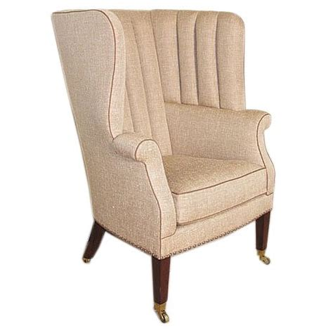 barrel armchair fluted barrel back armchair at 1stdibs