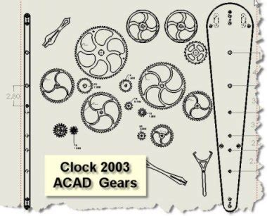 ajo working  wood clock plans cnc