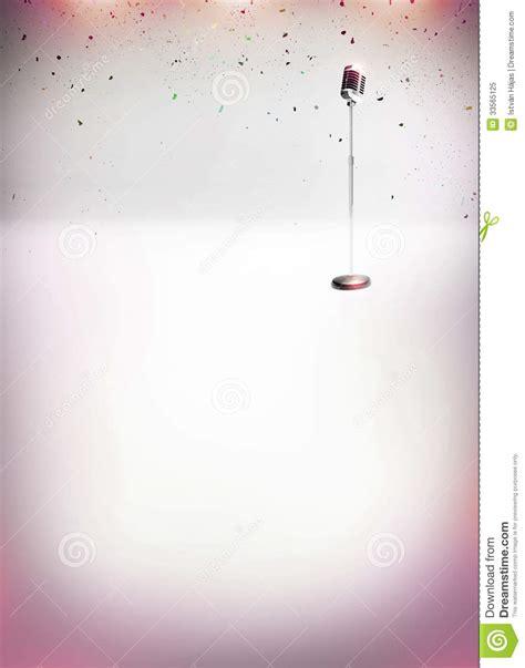 printable poster backgrounds karaoke music poster stock illustration image of card