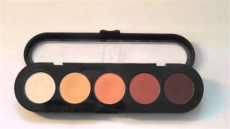 Review Eyeshadow Inez 05 makeup atelier eyeshadow palette t05 review swatches