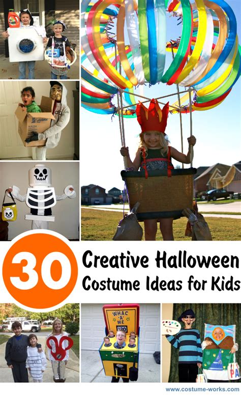 creative halloween costume ideas  kids
