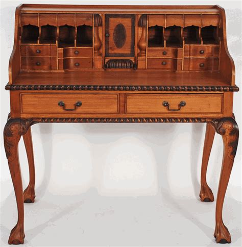 furniture ornate fancy writing desk from