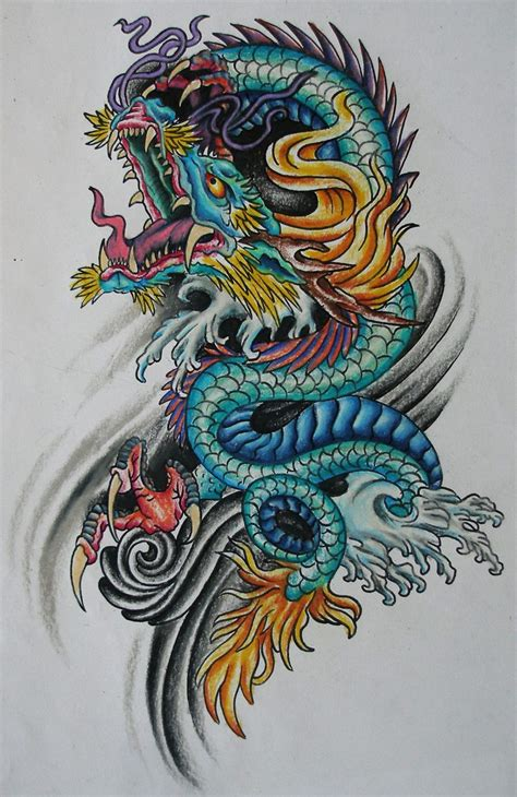 chinese dragon tattoo design best 25 asian ideas on