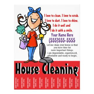 Eco Friendly Cleaning Products cleaning flyers amp leaflets zazzle co uk