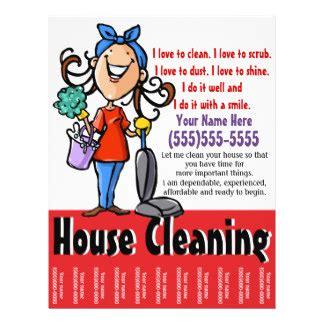 cleaning flyers amp leaflets zazzle co uk