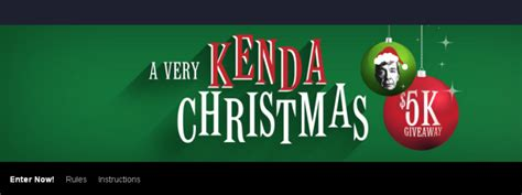 Investigation Discovery Com 2017 Giveaway - a very kenda christmas 5k giveaway win visa gift card
