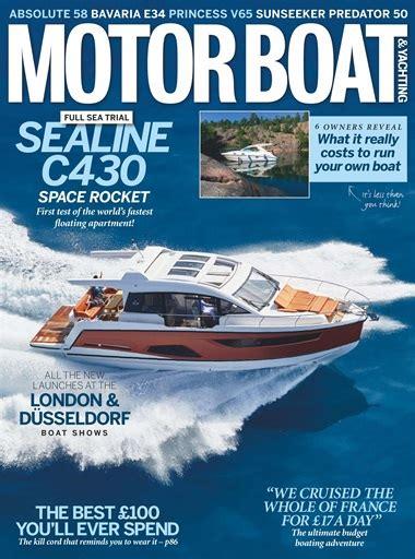 motorboat film motorboat yachting magazine february 2018