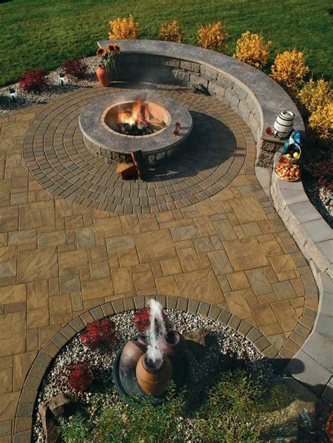 sted concrete fire pit fire pit design ideas