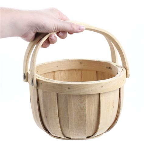 natural woodchip wall basket baskets buckets boxes natural chipwood apple basket baskets buckets boxes