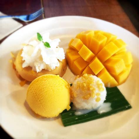 Thai Mango Sticky Rice Ketan Mangga Dari Blumango Small Pax rekomendasi kuliner lokal di chiang mai pergidulu