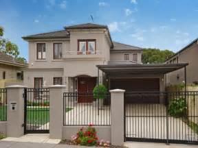 house facades photo of a concrete house exterior from real australian