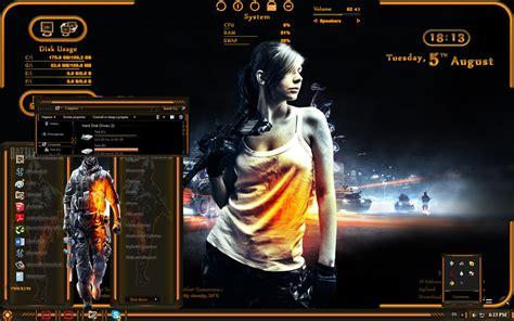 themes for windows 7 guns battlefield official windows 7 theme