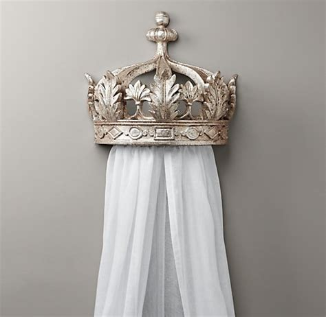 Bed Crown Canopy Pewter Demilune Canopy Bed Crown