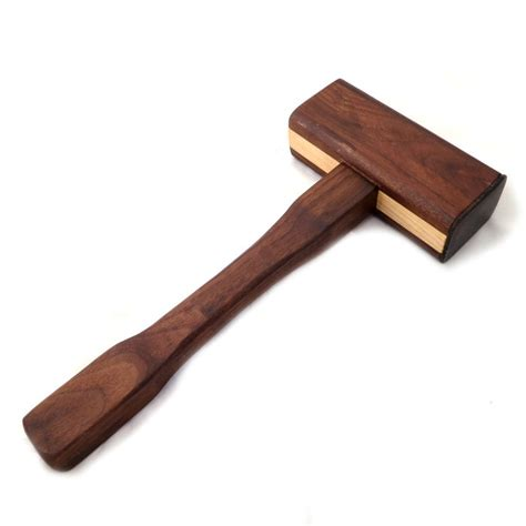 woodworkers mallet maple walnut joiner s mallet w chisel rack by