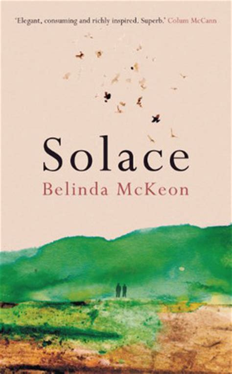 book review solace by belinda mckeon mboten