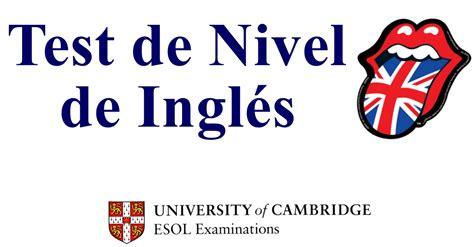 test inglese test de ingl 233 s gratis preguntas oficiales