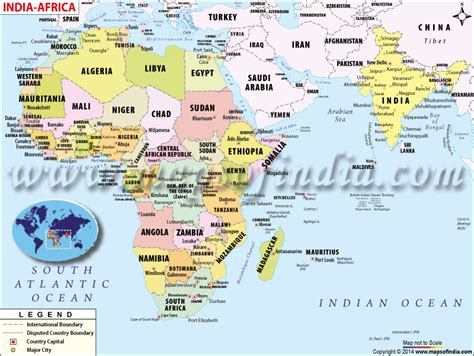 africa map indian mapa de africa e india
