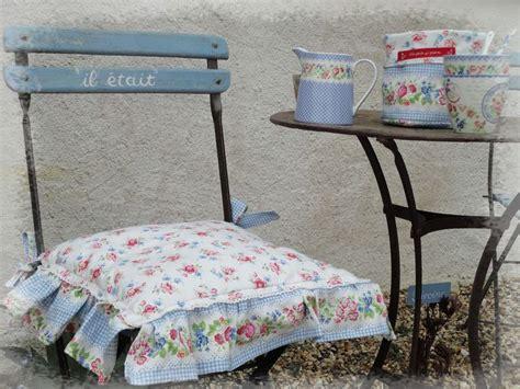 galette de chaises galette de chaise shabby