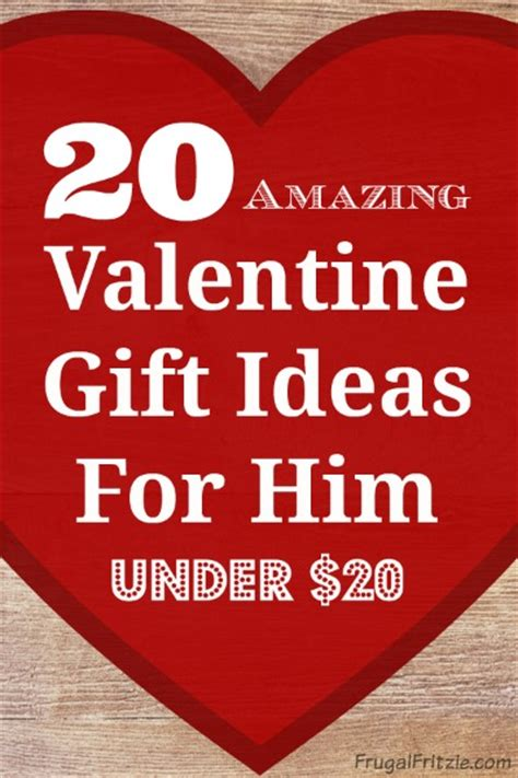 20 amazing valentine gift ideas for him under 20