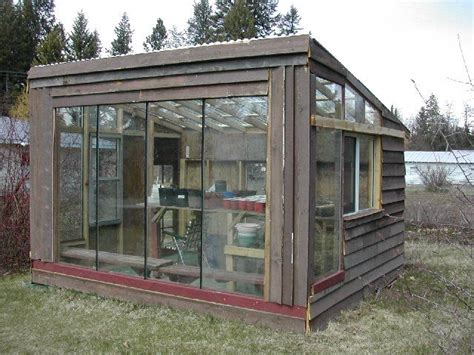 Backyard Greenhouses Canada by Glass Greenhouse Repurposed Sliding Doors Or Maybe