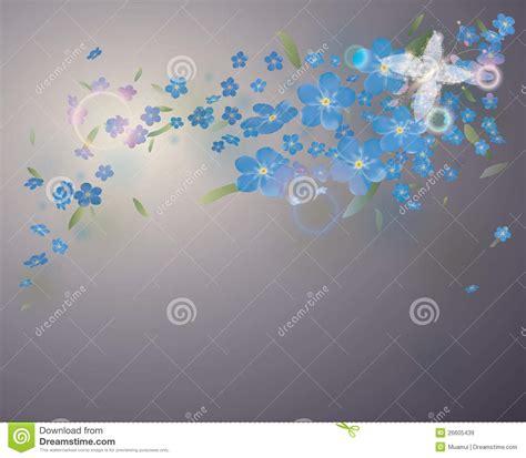 flores azules claras mariposa imagenes de archivo imagen 2050474 mariposa de hadas en flores azules im 225 genes de archivo