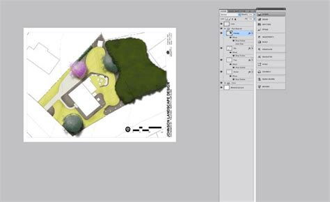 Site Plan Rendering Photoshop Architectural Tutorials ARCH student.com