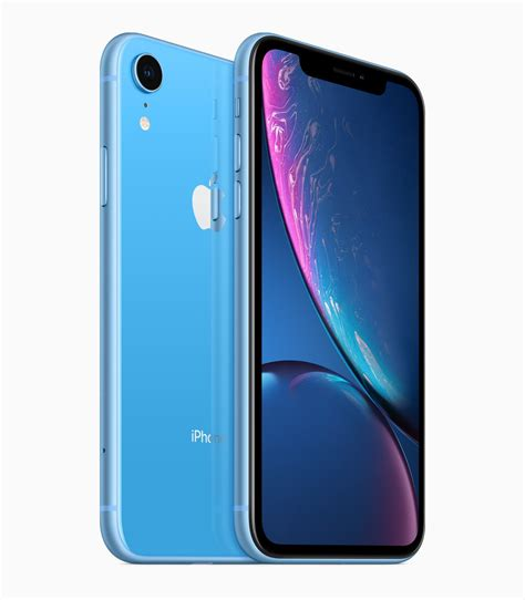 apple just introduced the iphone xr a 749 iphone with a big screen that comes in 6 colors